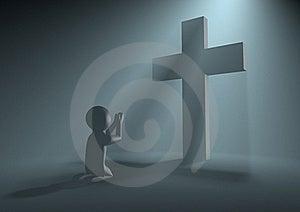 Praying Figure Royalty Free Stock Photo - Image: 20837335