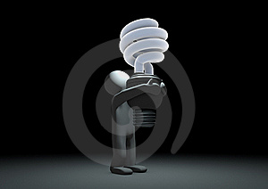 Eco-friendly Light Bulb Royalty Free Stock Images - Image: 20837349