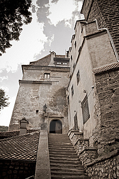 Old Stone Castle Entrance Royalty Free Stock Photos - Image: 20839778