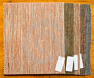 Pieces Of Burlap Sample Stock Image - Image: 20839891