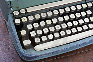 Old Type Device Keyboard Royalty Free Stock Photos - Image: 20843508
