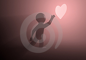 Reaching For Love Royalty Free Stock Photography - Image: 20852447