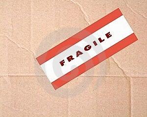 Fragile Sign Stock Photos - Image: 20854333
