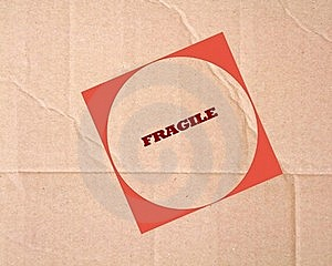 Fragile Sign Royalty Free Stock Photo - Image: 20854335