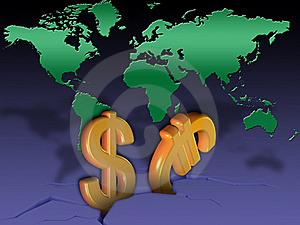 Global Crisis Royalty Free Stock Photo - Image: 20860075