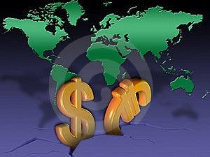 Global Crisis Royalty Free Stock Photo - Image: 20860075