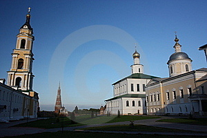 Russia, Kolomna. The Old-Golutvin Monastery. Stock Images - Image: 20862504