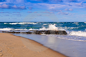 Brazilian Coastline Stock Image - Image: 20866831