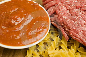 Pasta Ingredients Stock Photo - Image: 20867410