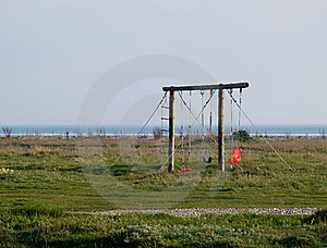 Cute Playground On The Beach Stock Images - Image: 20874534