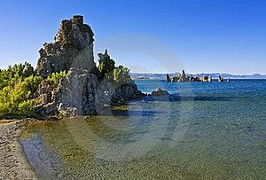 Tufa Formations At Mono Lake Royalty Free Stock Photography - Image: 20878257