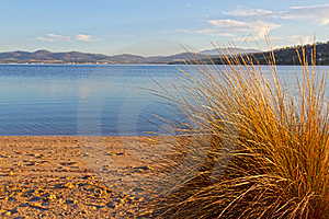 Beach Scene, Tasmania Stock Images - Image: 20884084