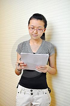 Asian White-collar Woman Royalty Free Stock Photos - Image: 20884888