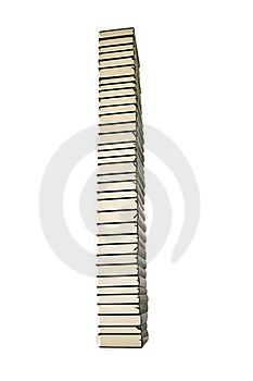 Books Tower Stock Image - Image: 20885161