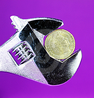 The Purple Dollar Stock Images - Image: 20893074