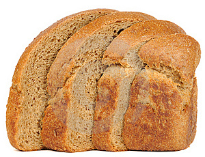 Sliced Brown Bread Royalty Free Stock Images - Image: 20893559