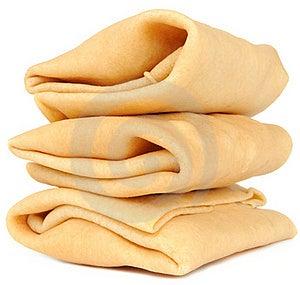Pile Of Stuffed Pancakes Stock Photo - Image: 20893570