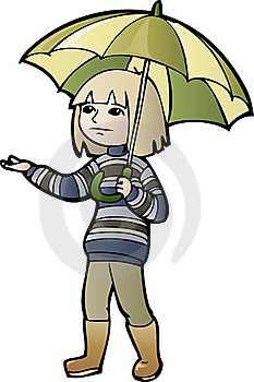 Boy With Umbrella Stock Photos - Image: 20896143