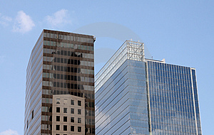 Modern Skyscrapers Royalty Free Stock Image - Image: 2094336