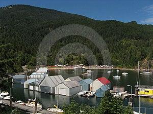 Kaslo Bay And Jazz Festival Royalty Free Stock Image - Image: 2098416