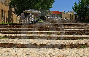 Stairways In Trinidad, Cuba Royalty Free Stock Photography - Image: 20901697