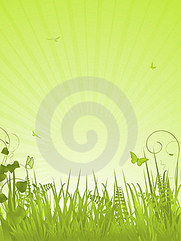 Green Tranquil Background Portrait Royalty Free Stock Images - Image: 20902419