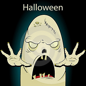 Halloween Ghost Royalty Free Stock Photography - Image: 20908077