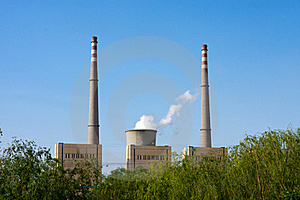 Green Power Plant Environment Royalty Free Stock Images - Image: 20918409