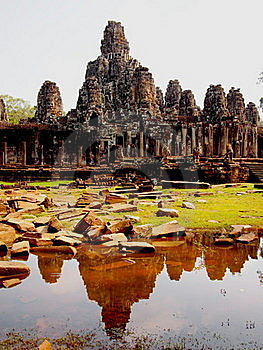 Bayon Angkor Thom Stock Photos - Image: 20920173