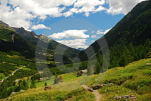 San Domenico, Varzo. Italian Alps Stock Photos - Image: 20921463