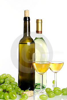 Wine Composition On The Table Stock Image - Image: 20922961
