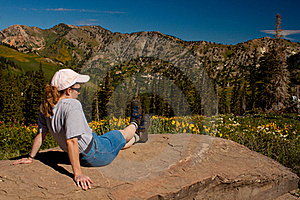 Enjoying The View Stock Photography - Image: 20923352