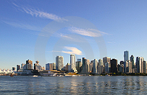 Vancouver  Cityscape Stock Images - Image: 20925184