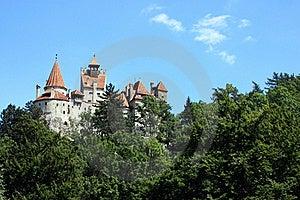 Vista Do Castelo Famoso Do Farelo Fotografia de Stock - Imagem: 20928592
