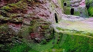 Green Cavern Walls Royalty Free Stock Photo - Image: 20930845