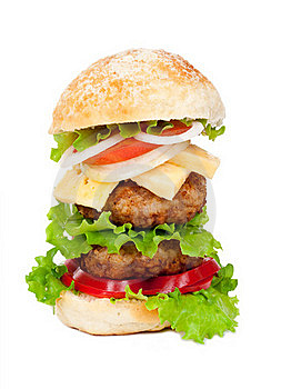 Big Hamburger Royalty Free Stock Photo - Image: 20932505