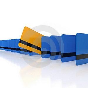 Unique Credit Card Stock Image - Image: 20932521