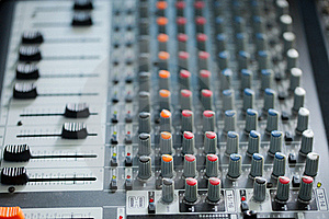 Sound Mixer Stock Photo - Image: 20933580