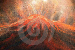 Inferno Wall Background Royalty Free Stock Photo - Image: 20936325