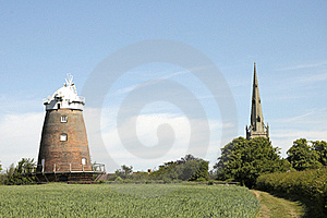 Thaxted Windmill Stock Image - Image: 20938221