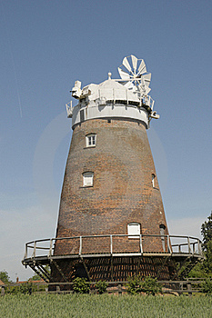 Thaxted Windmill Royalty Free Stock Photo - Image: 20938245