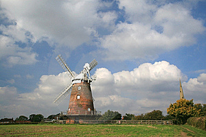 Thaxted Windmill Royalty Free Stock Images - Image: 20938629