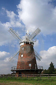 Thaxted Windmill Royalty Free Stock Image - Image: 20938646