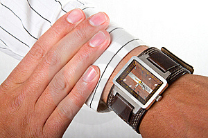 Whats The Time Royalty Free Stock Image - Image: 20945996
