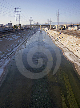 Los Angeles River Stock Image - Image: 20946851