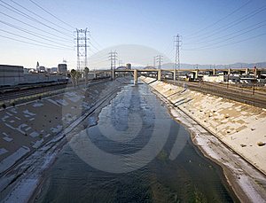 Los Angeles River 2 Stock Image - Image: 20946871