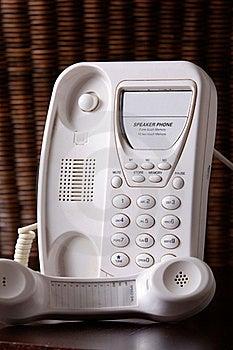 White Telephone Stock Images - Image: 20947414