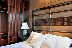 Oriental Style Bedroom Royalty Free Stock Images - Image: 20947449