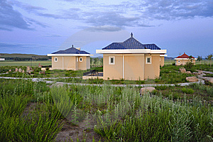 Resort Cabins Royalty Free Stock Images - Image: 20947539