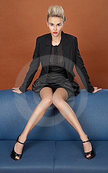 Leggy Business Woman Royalty Free Stock Image - Image: 20947726